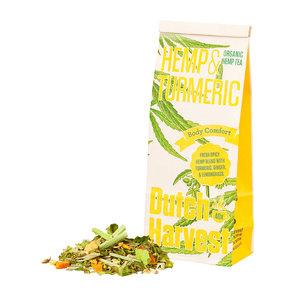 "Dutch Harvest Hennep Thee ""Hemp & Turmeric"" - Bio – 40gr"