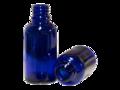 Bottle Cobalt Blue Glass DIN18 50ml