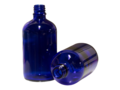 Bottle Cobalt Blue Glass DIN18 100ml